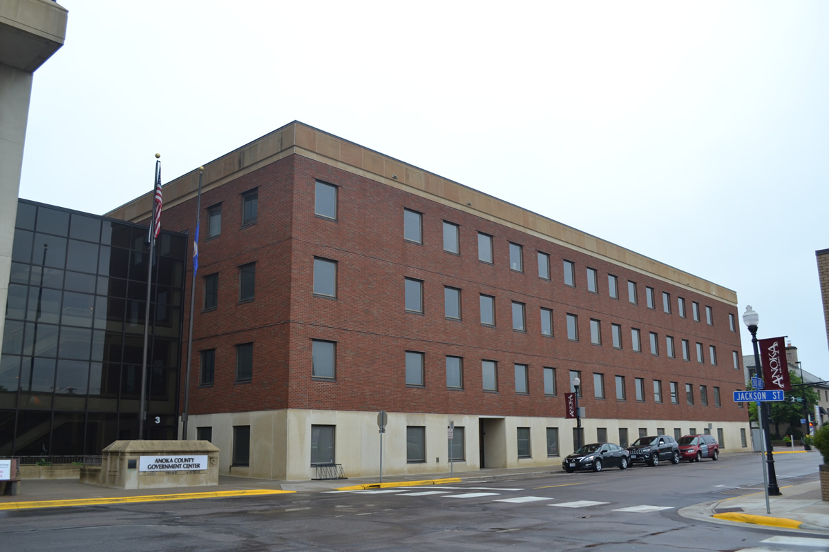 Anoka County Government center exterior