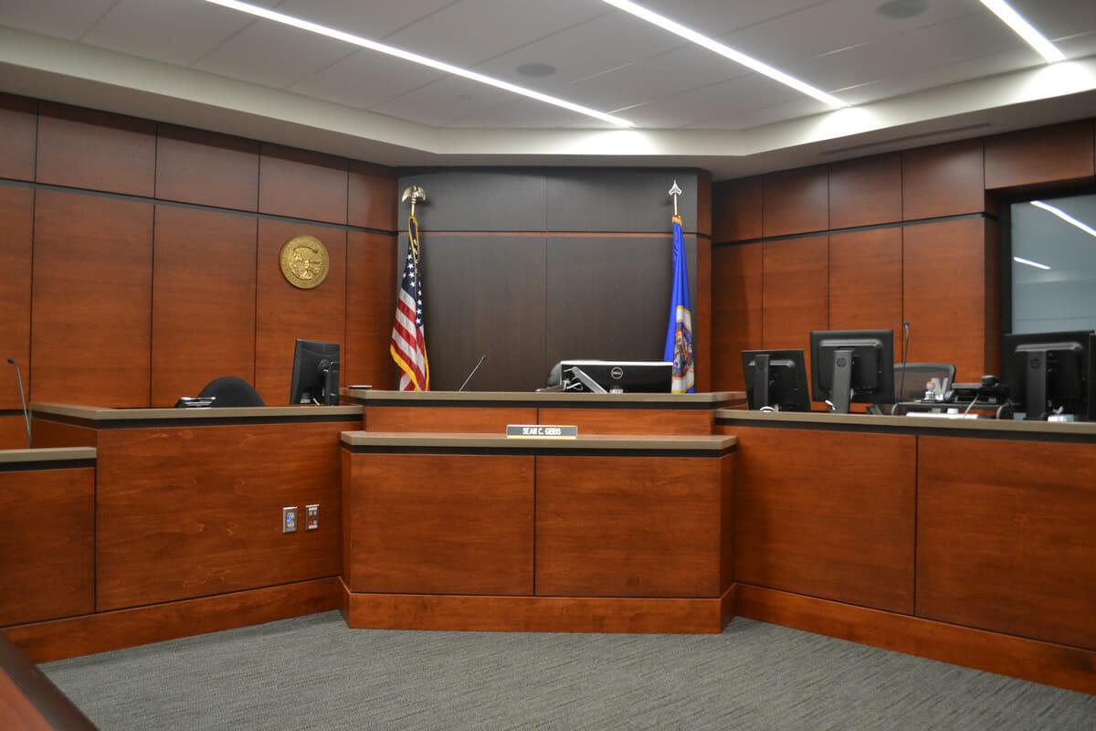 Anoka courtroom