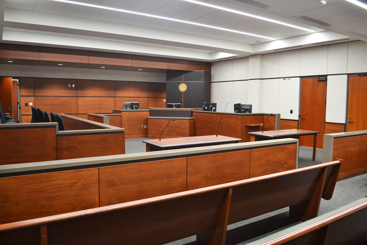 Anoka Courthouse courtroom