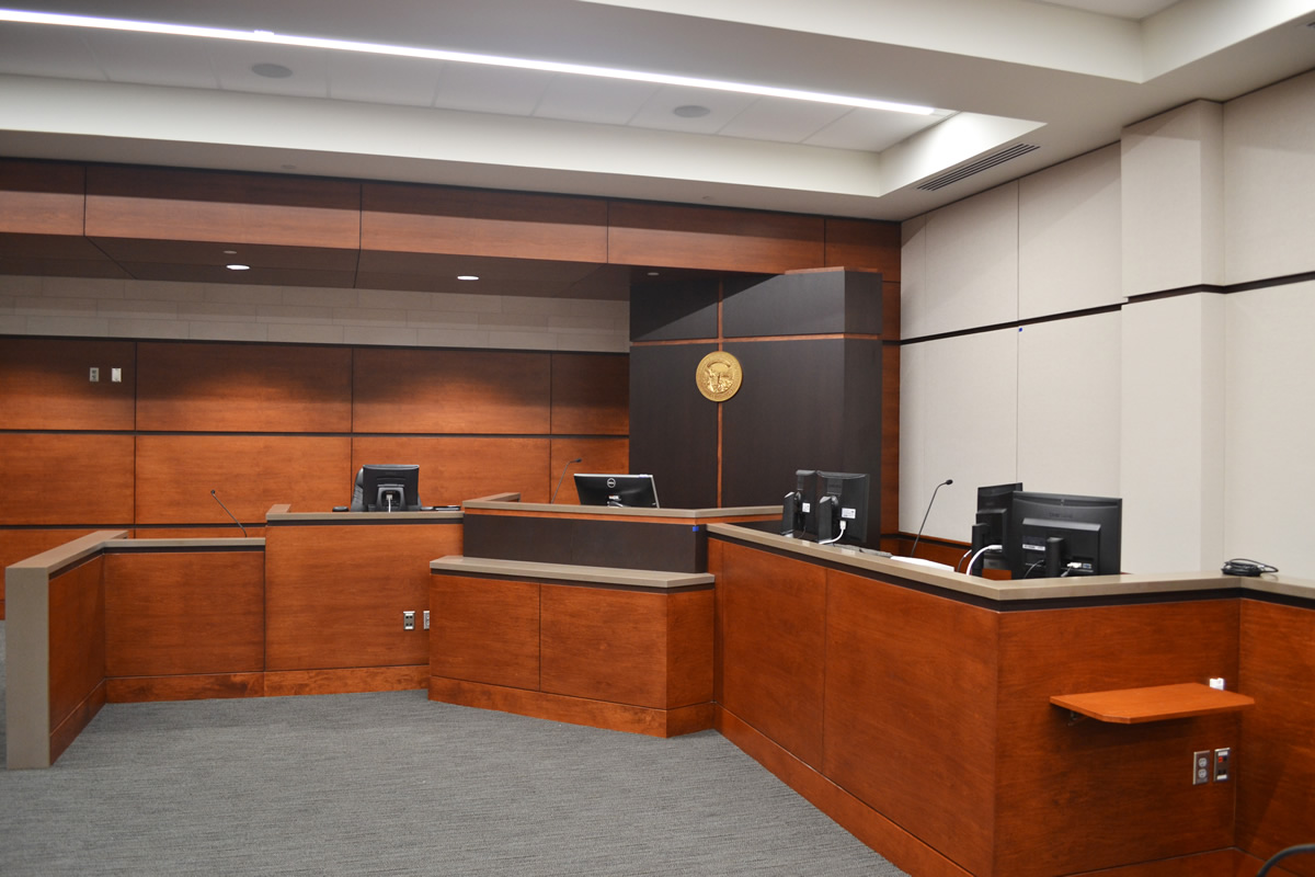 Anoka Courthouse judge pulpit