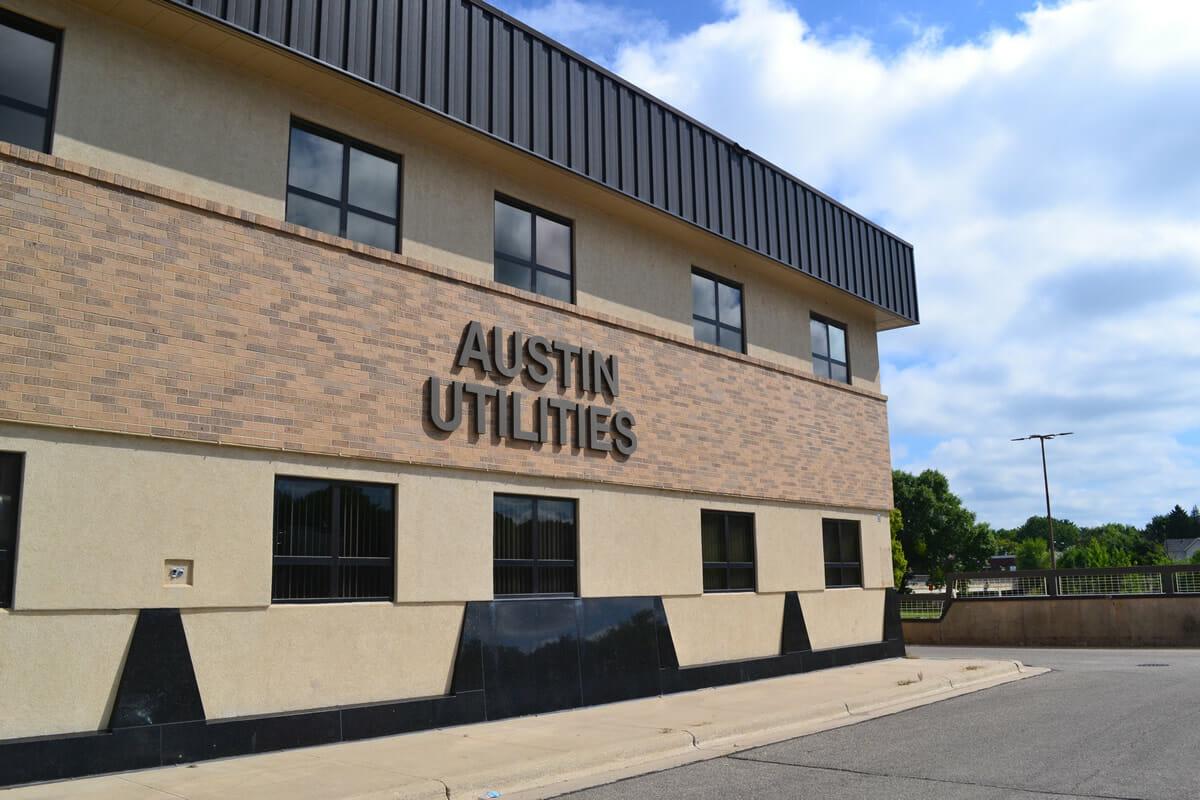 Austin Utilities build exterior