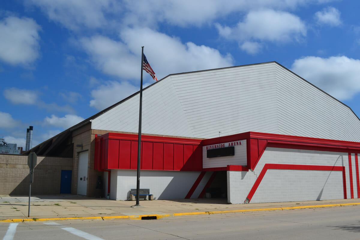 Riverside Arena exterior