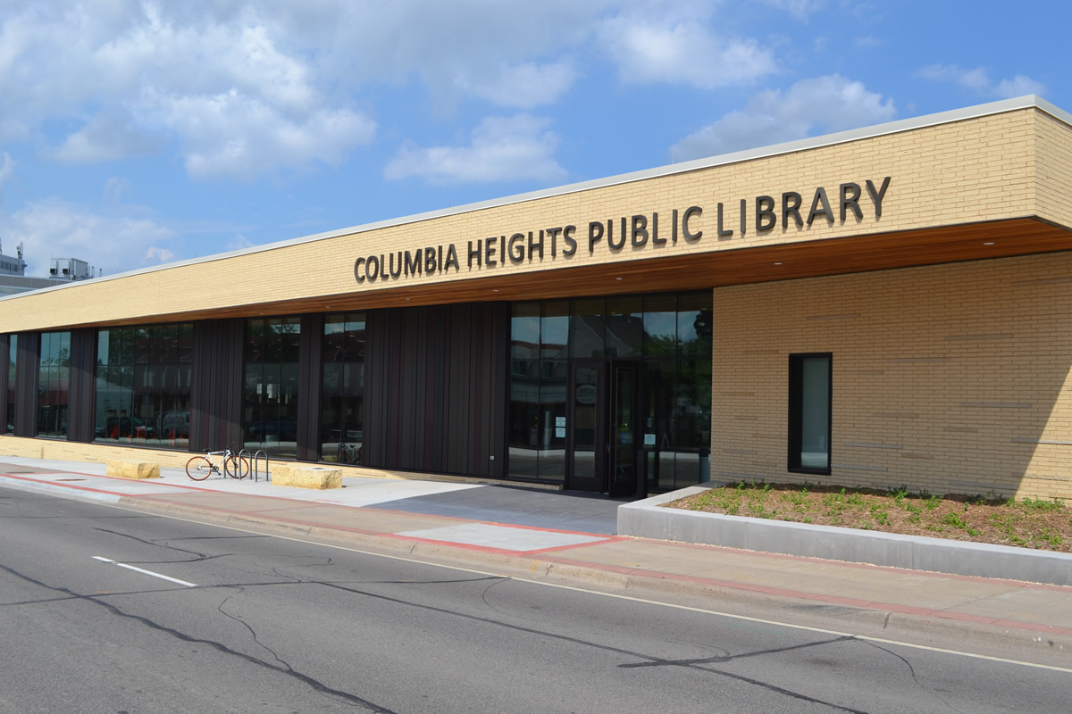 Columbia Heights Public Library exterior