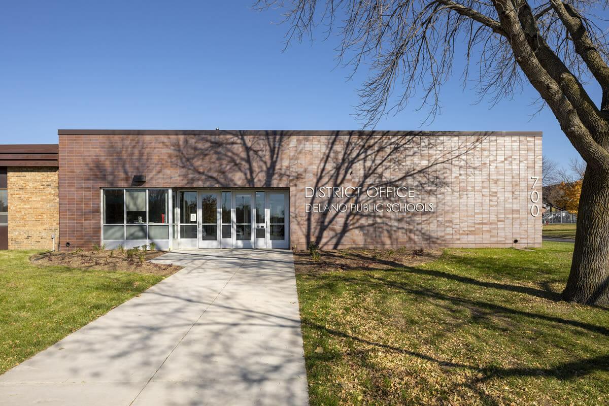 Delano Public Schools District Office exterior