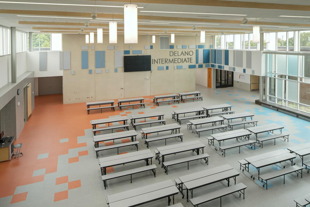 Delano High School cafeteria