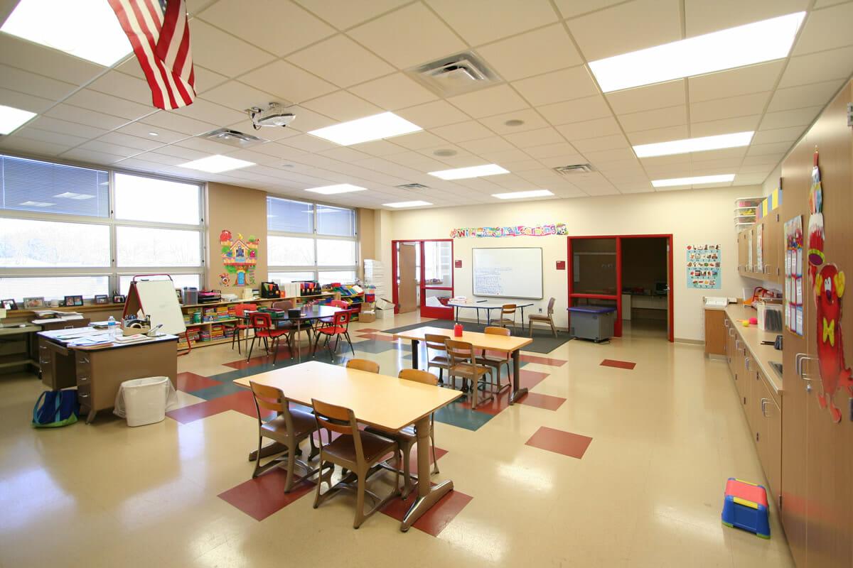 Fairmont Elementary school classroom