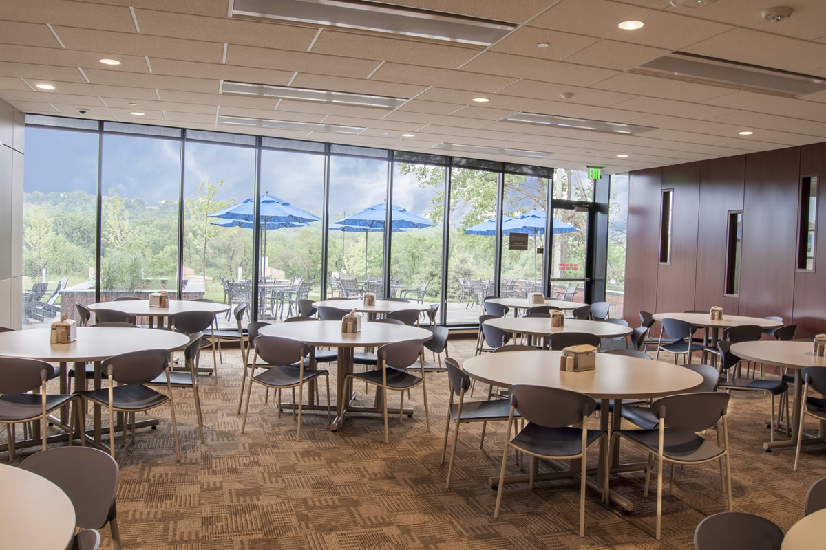 Hazelden Betty Ford foundation cafeteria