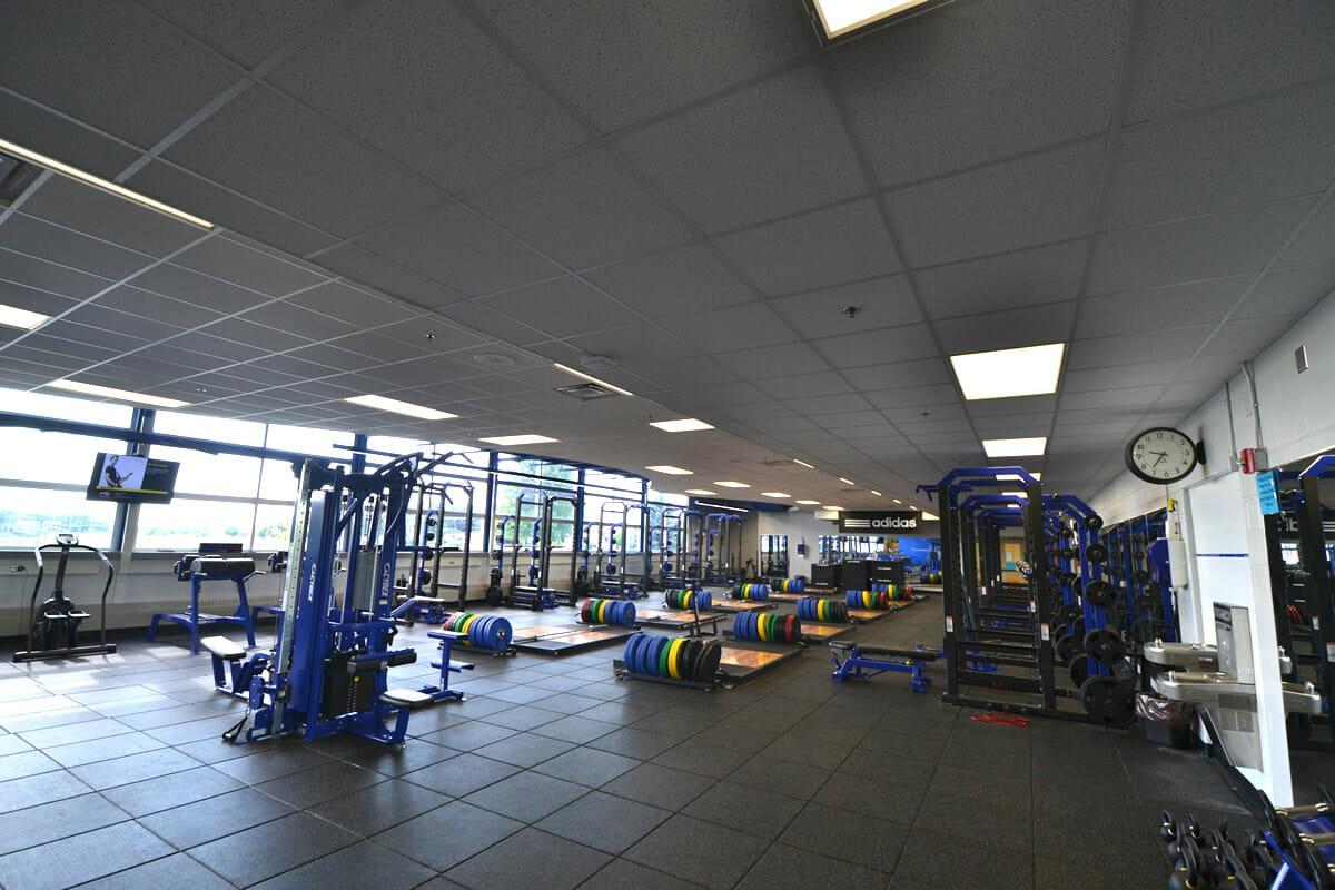Kasson Mantorville weight room
