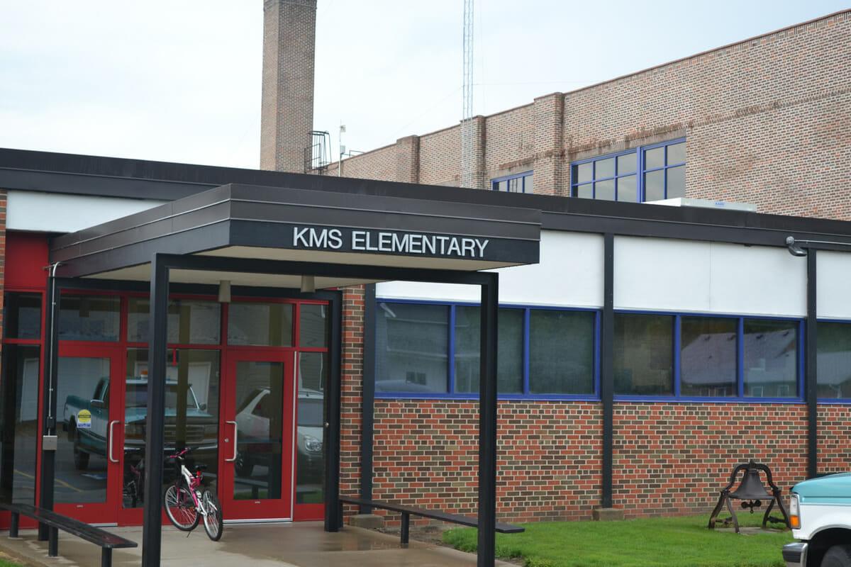 KMS Elementary entrance