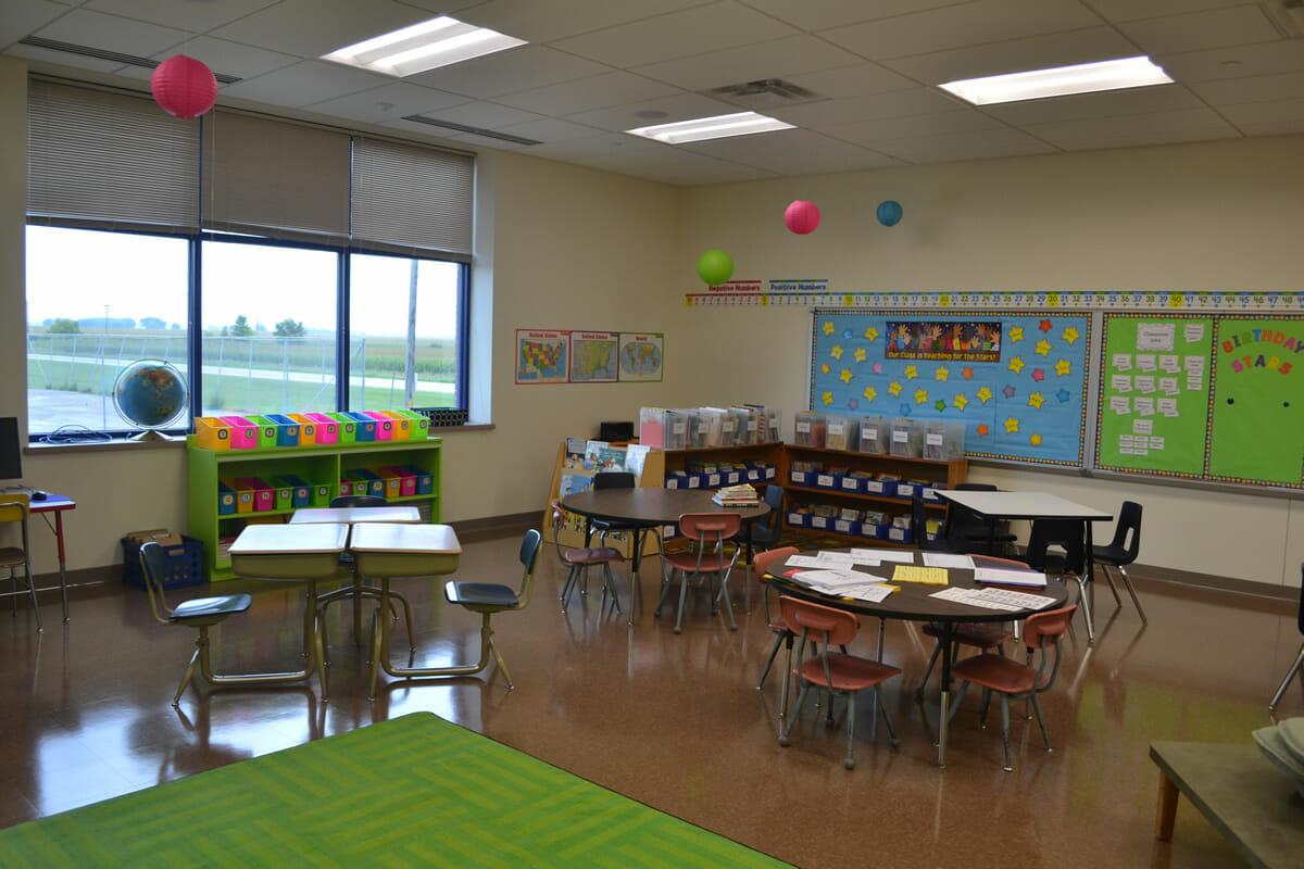KMS Public School classroom