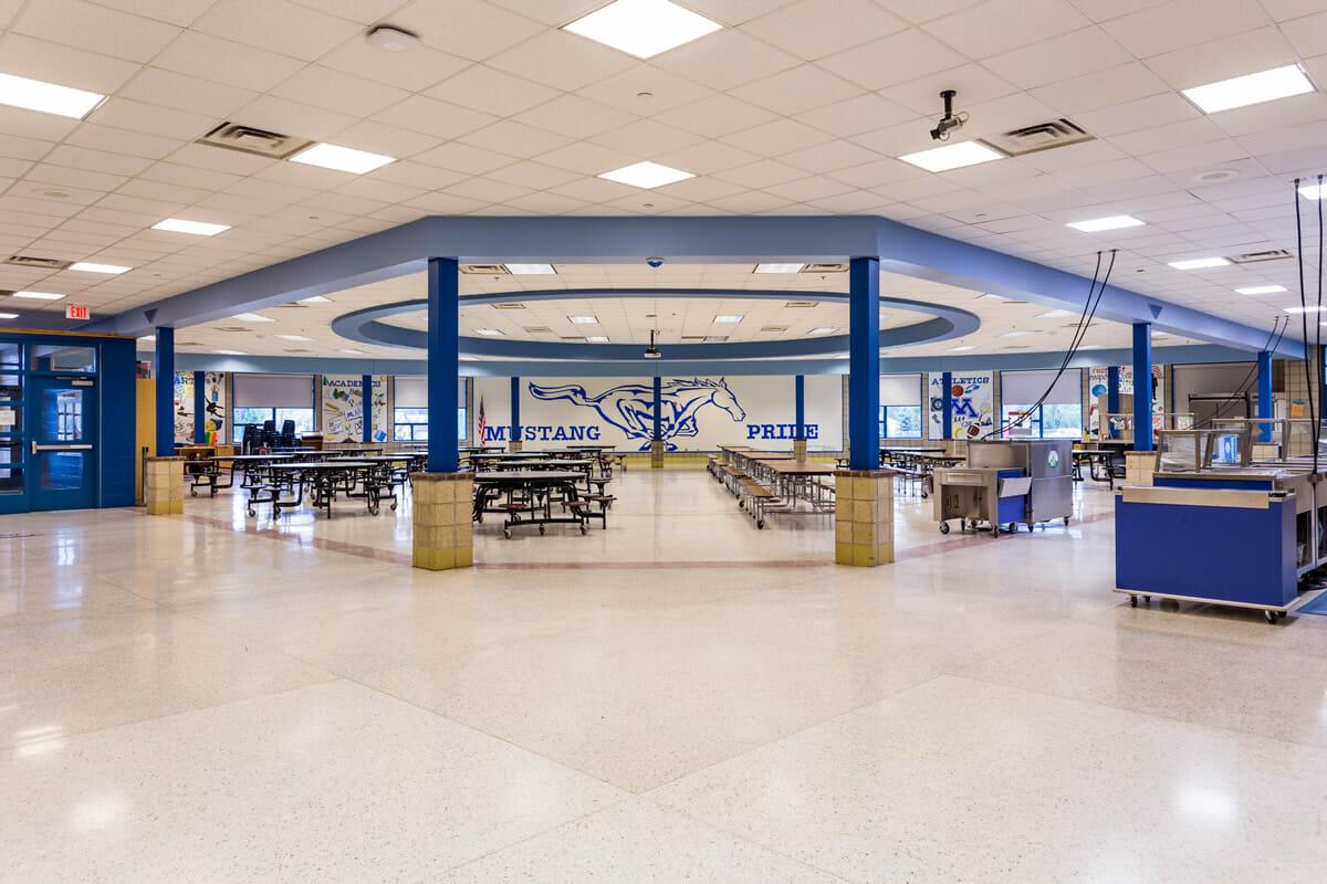 Mora Public School cafeteria