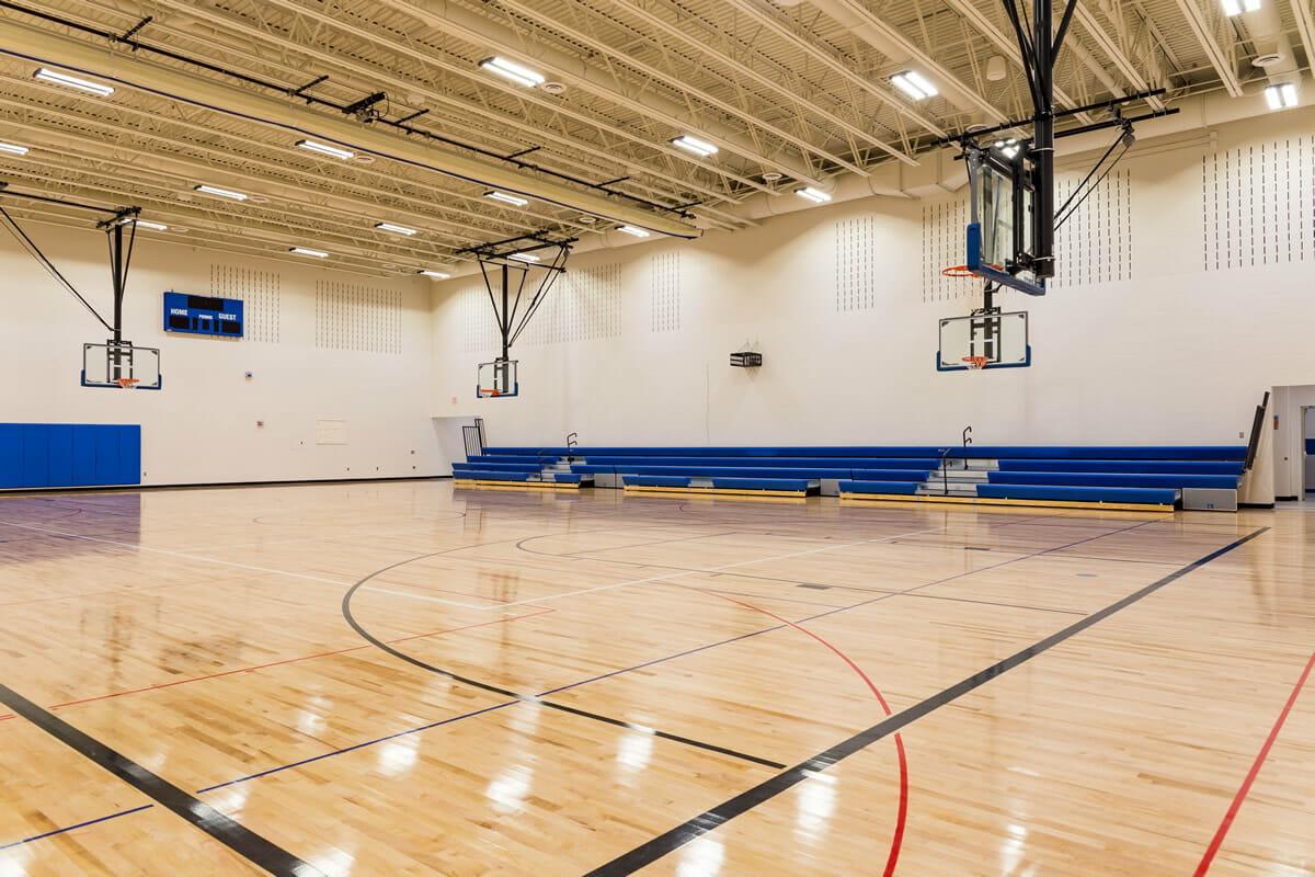 Mora Public School gymnasium
