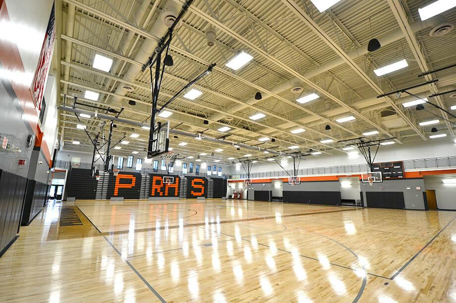 Pelican Rapids School gymnasium