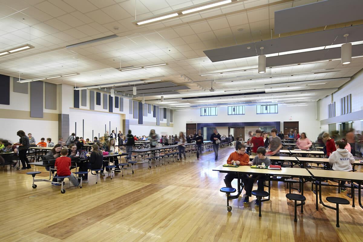 Pequot Lakes Public School cafeteria