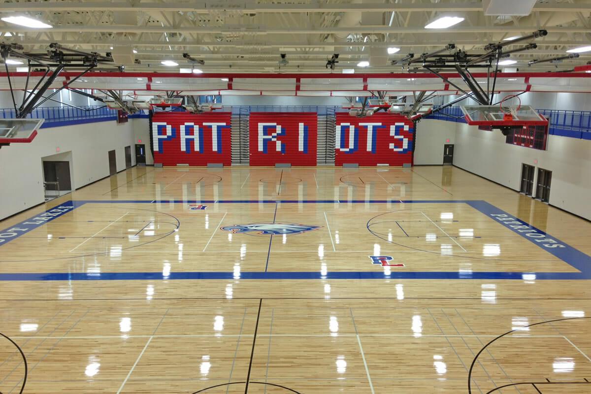 Pequot Lakes Public School gymnasium