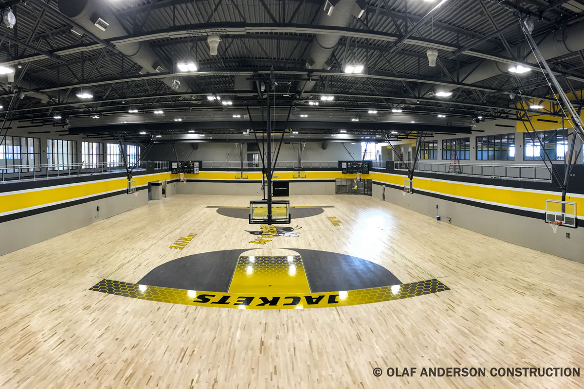 Perham High School Gymnasium