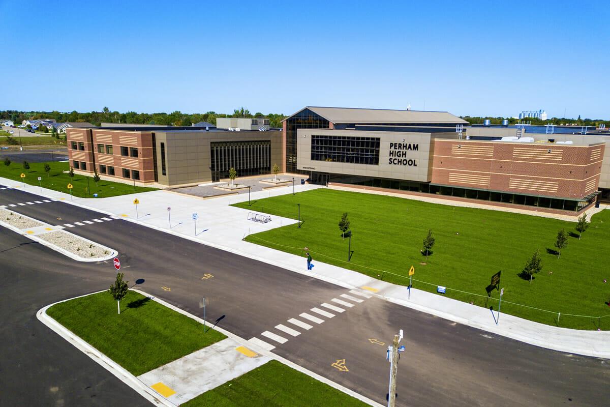 Perham High School exterior