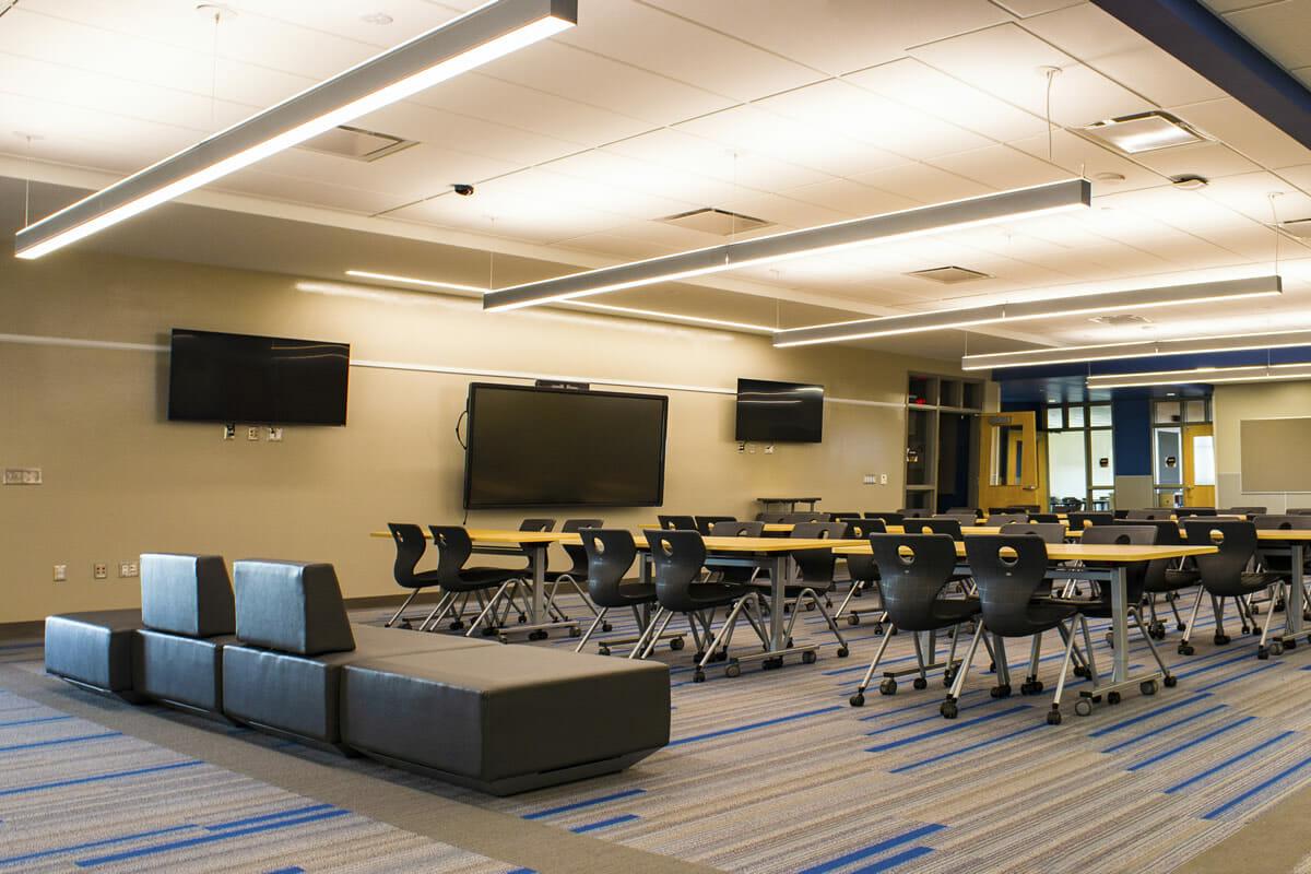 Perham Dent Public School classroom