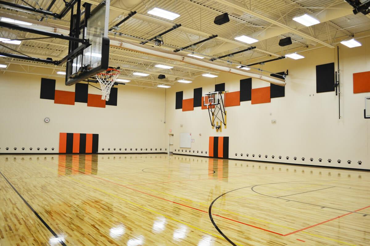 Princeton Public School gymnasium