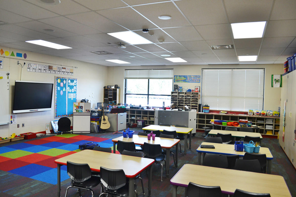 Princeton Public School classroom