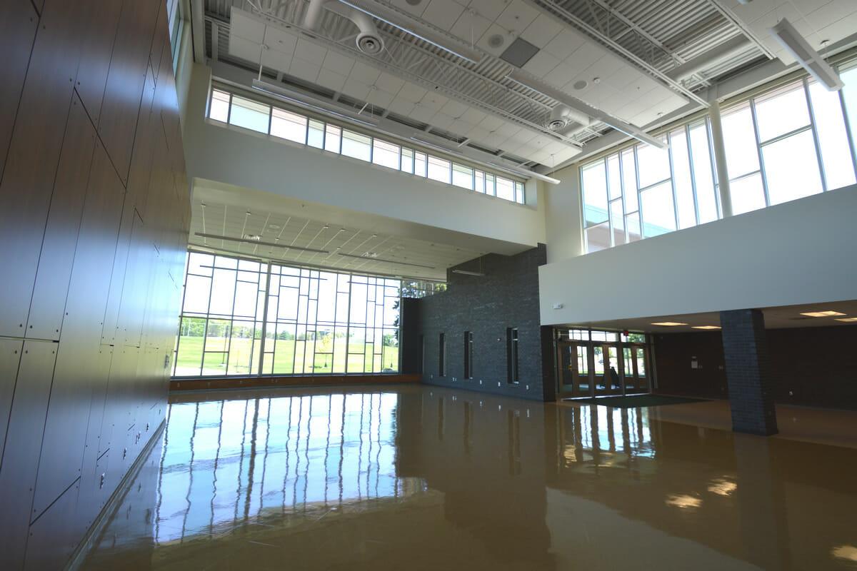 Rushford Peterson School atrium