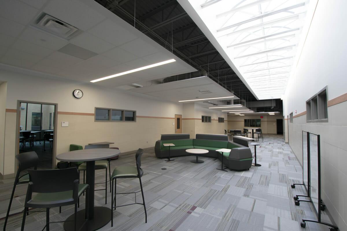 Rushford Peterson School lounge