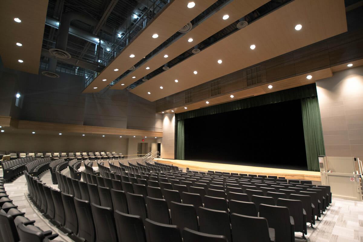 Rushford Peterson School auditorium