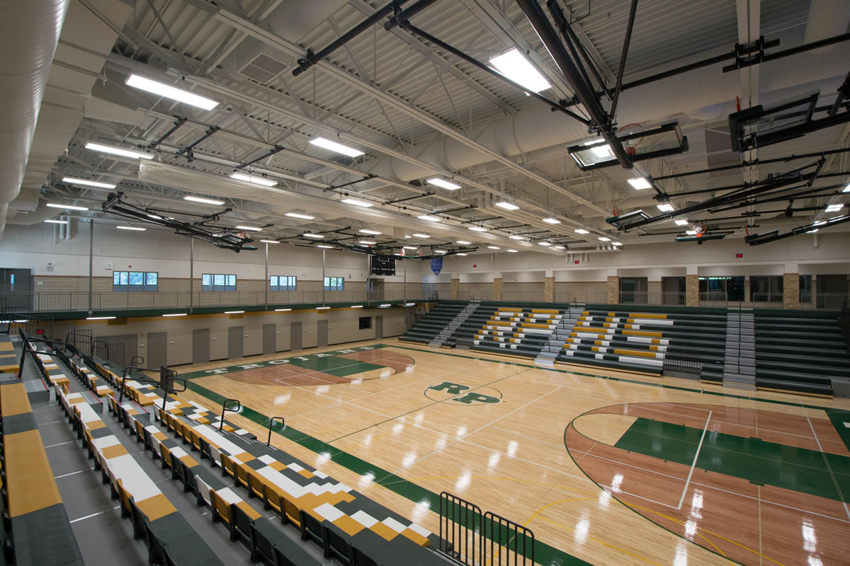 Rushford Peterson School gymnasium