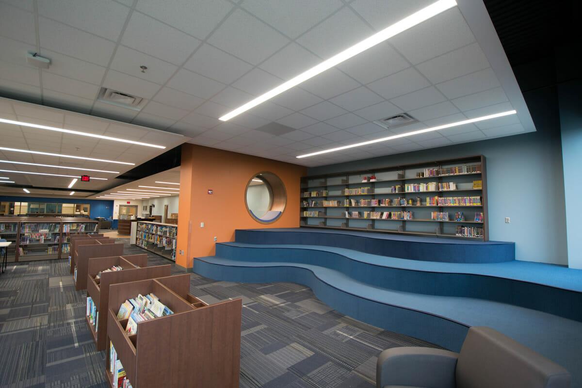 Rushford Peterson School Library
