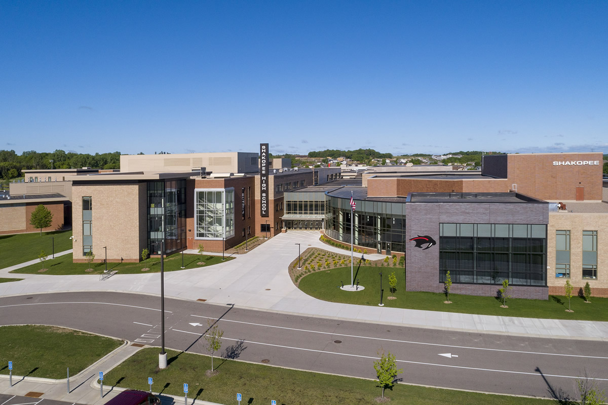 Shakopee High School exterior