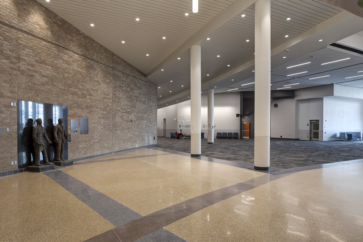 Shakopee High School Atrium