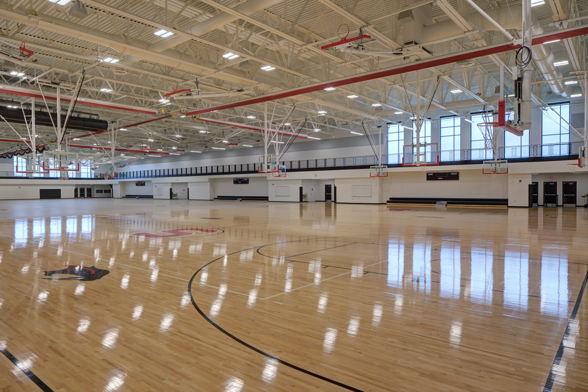 Shakopee High School gym