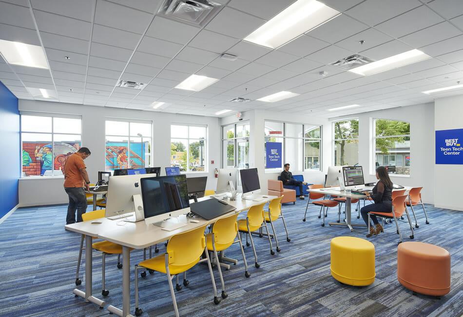 school computer lab